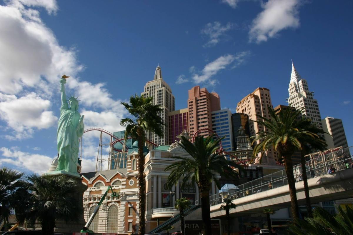 Las Vegas en trois temps...