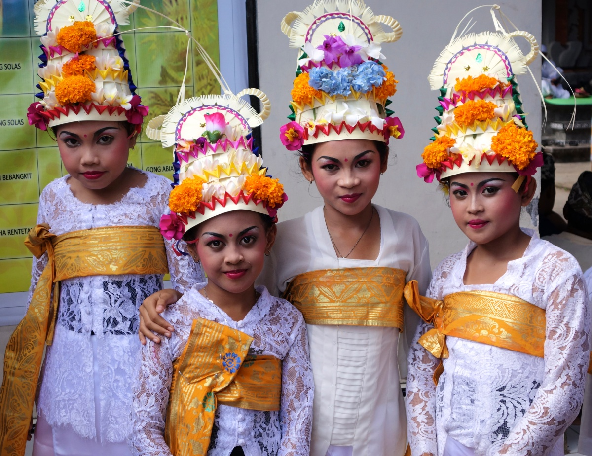 La grandeur de leurs croyances... Bali