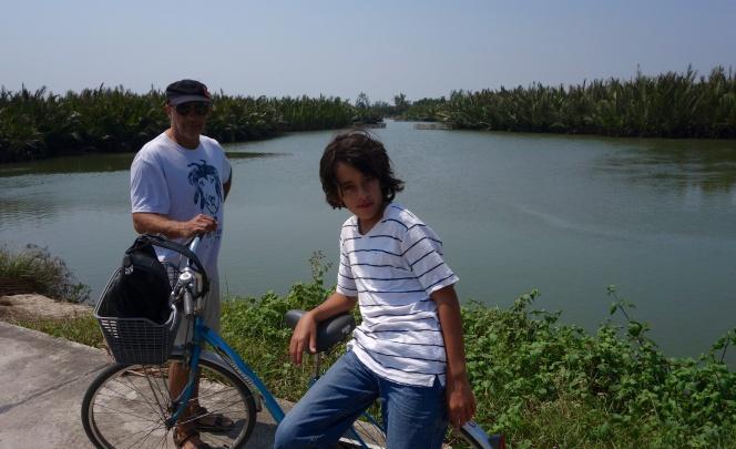 Un tour de vélo dans les environs de Hoi An qui fût fantastique...