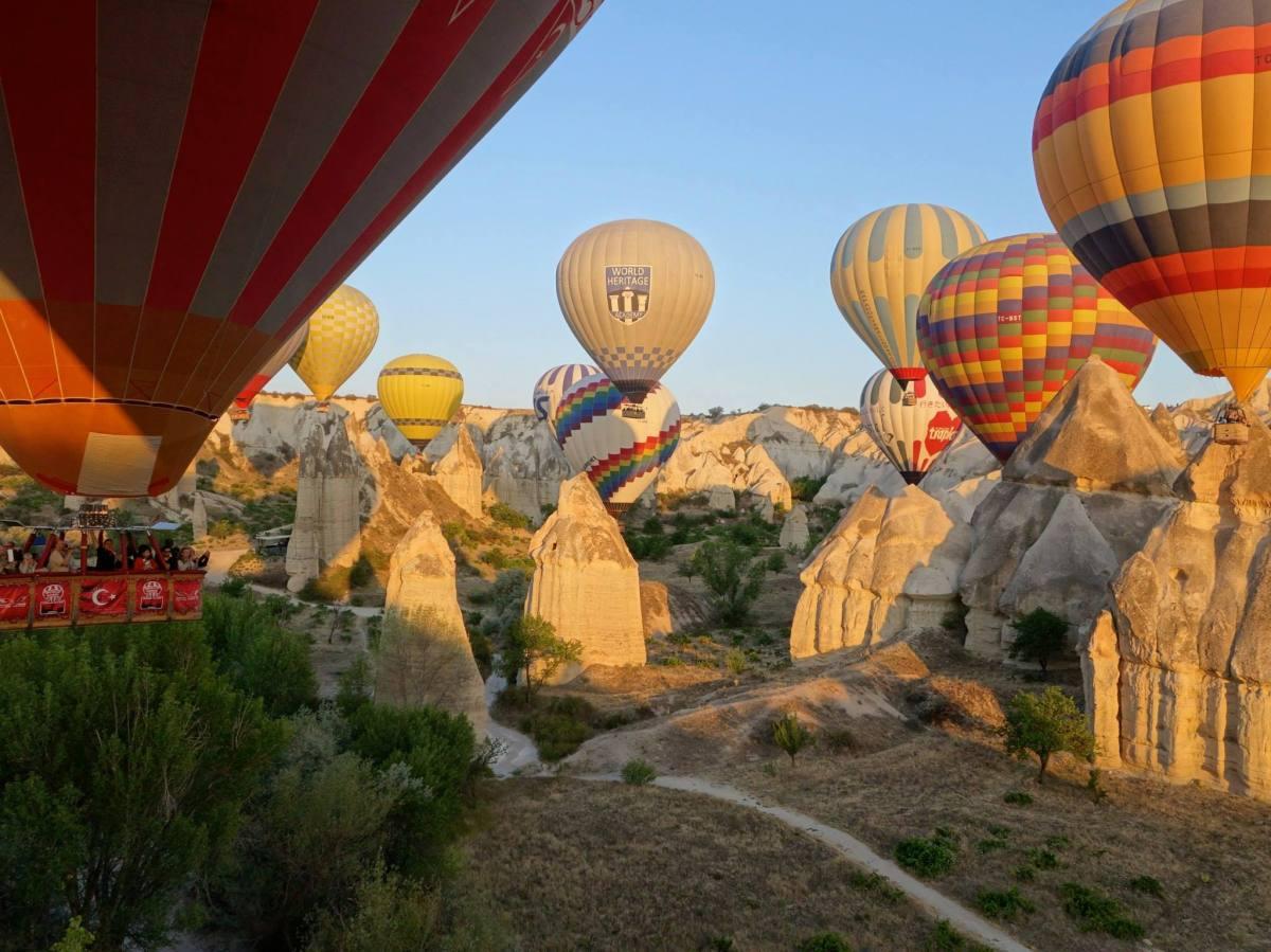 Bienvenue sur une autre planète... La Cappadoce