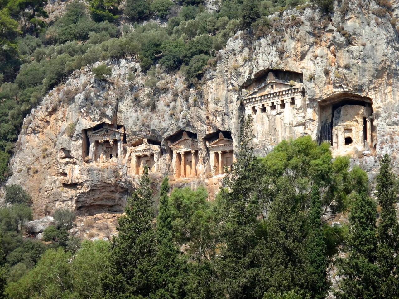 Des lieux à couper le souffle…  (Turquie) Pamukkale, Dalyan, Saklikent, Kalkan,  Myra, Antalya2014