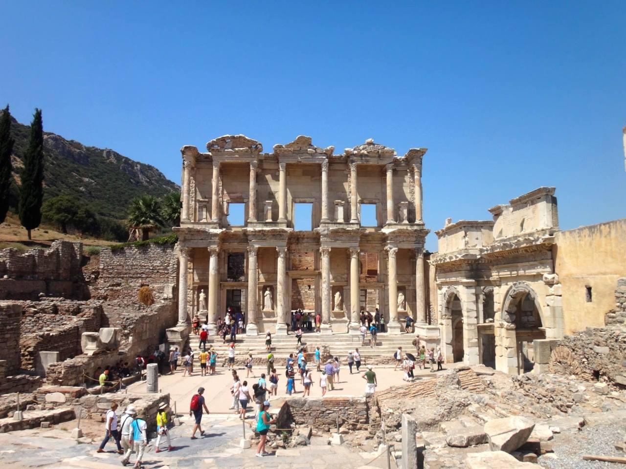 La Turquie, sur le chemin de l'histoire… Çanakkale, Bozcaada, Troie, Pergamon, Éphèse, Bodrum2014