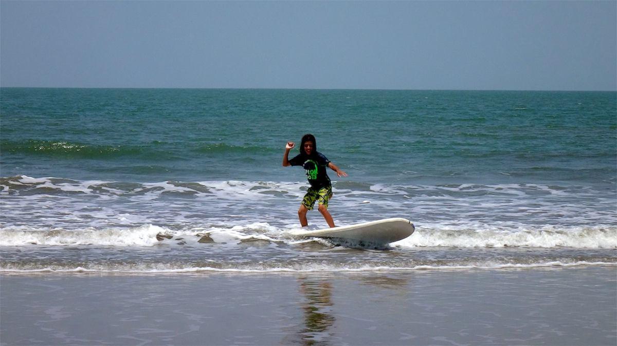 Goa... Les pieds dans le sable chaud... Et hop! on panique...