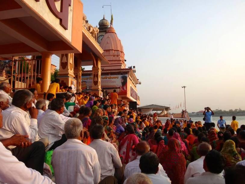 La cérémonie de l'Aarti
