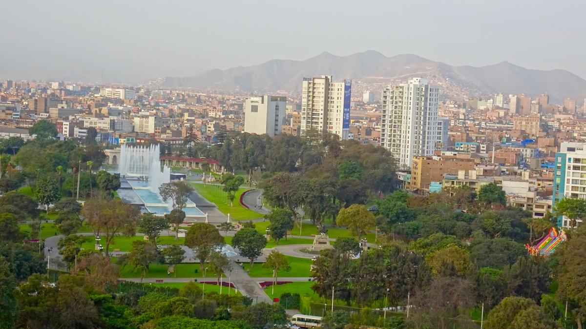Lima, la mal aimée... (Pérou) 2017