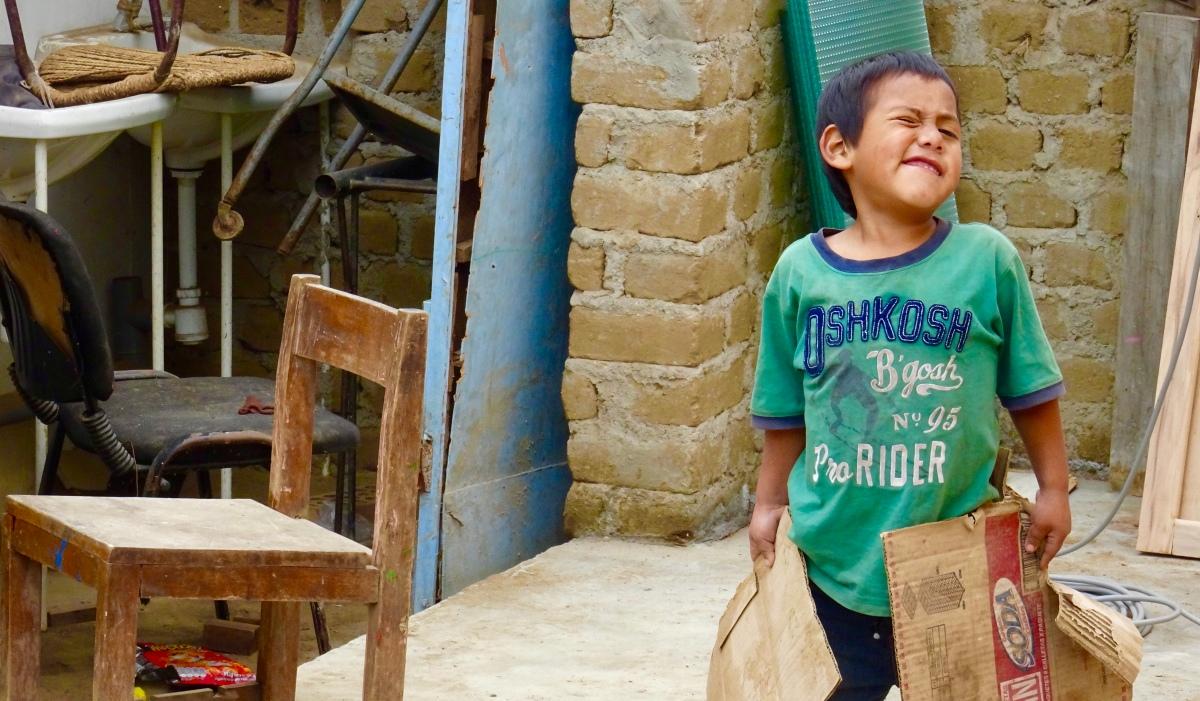 Deux semaines dans une ONG à Trujillo et visites de temples... (Pérou) 2017