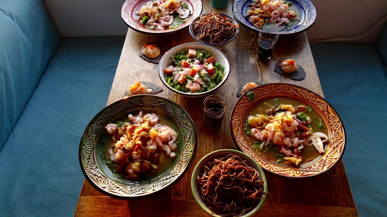 Balade Gourmande en Gaspésie.2018